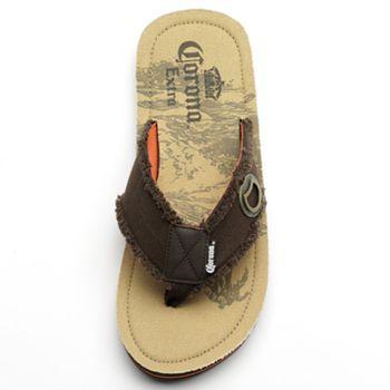Corona Flip Flops Brown