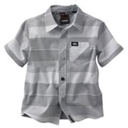 Tony Hawk Striped Woven Button-Down Shirt - Toddler