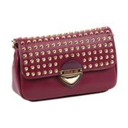 Nicole Lee Yvonne Studded Flap Cross-Body Bag