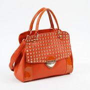 Nicole Lee Yvonne Studded Convertible Satchel