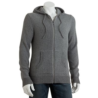 Marc Anthony Full-Zip Waffle Hoodie - Big and Tall