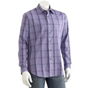 Apt. 9 Plaid Woven Casual Button-Down Shirt