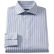 Marc Anthony Modern-Fit Striped Spread-Collar Dress Shirt