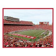 Wisconsin Badgers' Stadium Canvas Art