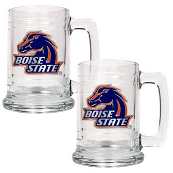 Boise State Broncos 2-pc. Glass Tankard Set