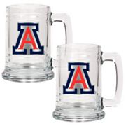 Arizona Wildcats 2-pc. Glass Tankard Set