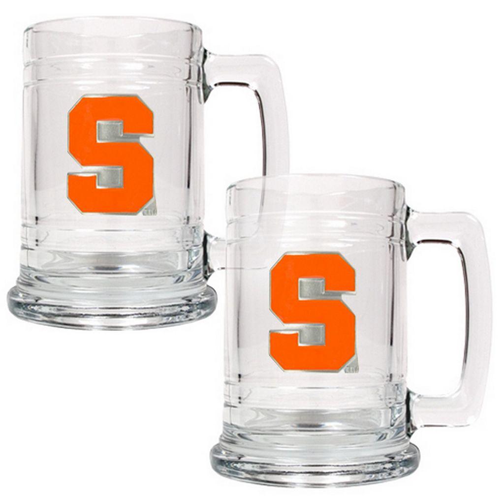 Syracuse Orange 2-pc. Glass Tankard Set