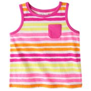 Jumping Beans Striped Tank - Baby