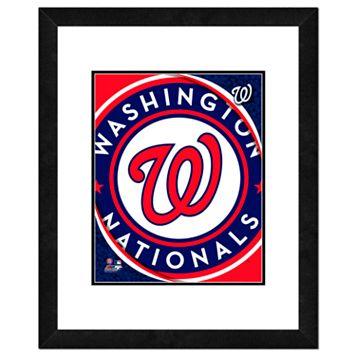 Washington Nationals Framed Logo