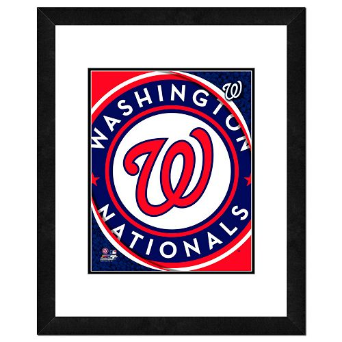 Washington Nationals Framed Logo