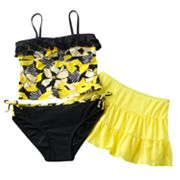 Candie's Sash 3-pc. Tankini Swimsuit Set - Girls 7-16