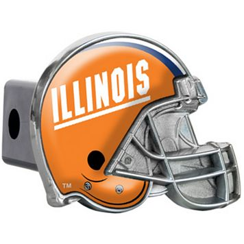 Illinois Fighting Illini Helmet Hitch Cover