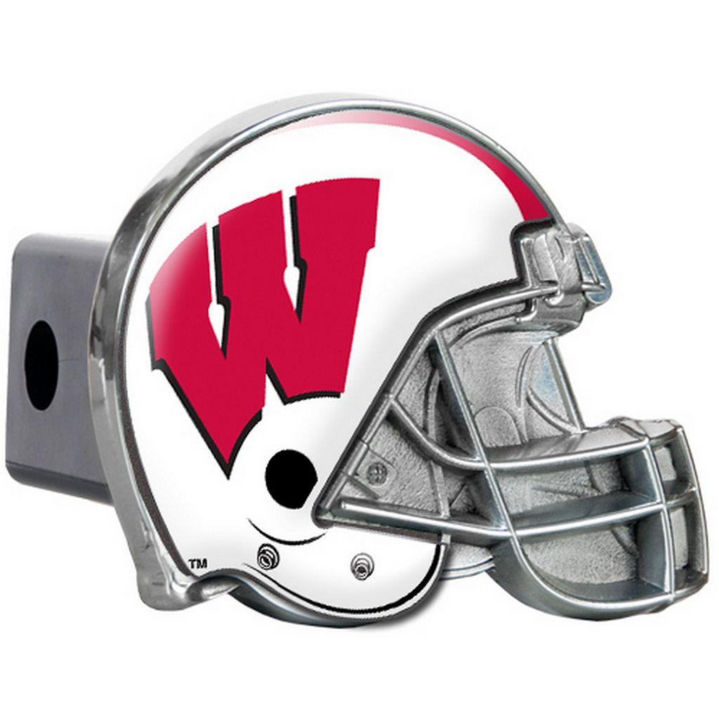 Wisconsin Badgers Helmet Hitch Cover