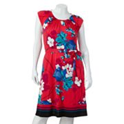 Apt. 9 Floral Shift Dress - Women's Plus