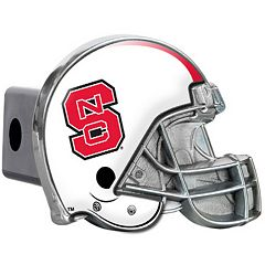 NC State Wolfpack Helmet Hitch Cover