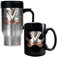 Virginia Cavaliers 2-pc. Stainless Steel Mug & Ceramic Mug Set