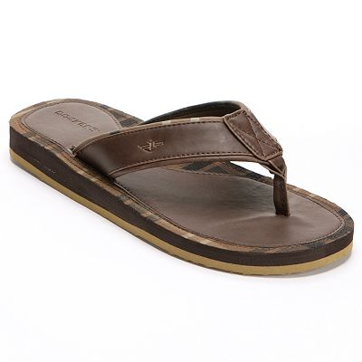 Dockers Plaid Flip-Flops - Men