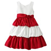Princess Faith Bubble Tiered Dress - Girls 7-12