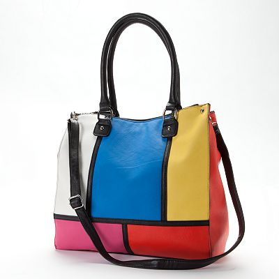 Apt. 9 Maci Colorblock Convertible Tote