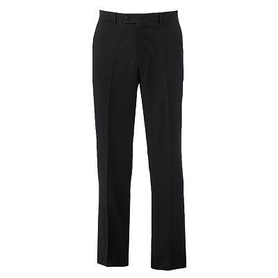 Louis Raphael Classic-Fit Flat-Front Dress Pants
