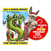 Shrek Quadrilogy 5-Disc DVD Set