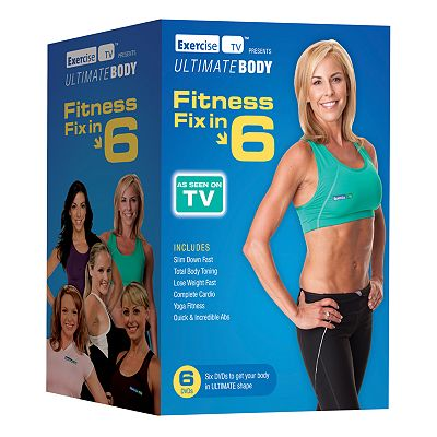 Fitness Fix in Six 6-Disc DVD Set