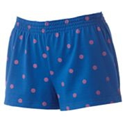 SO Polka-Dot Cheer Shorts - Juniors