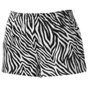 SO Zebra Cheer Shorts - Juniors
