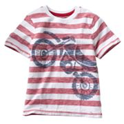 SONOMA life + style Striped Bike Tee - Boys 4-7x