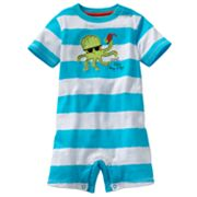 Jumping Beans Striped Octopus Romper - Baby