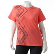 Tek Gear Printed Performance Tee - Women's Plus
