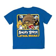 Angry Birds Star Wars Bordered Graphic Tee - Boys 8-20