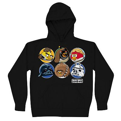 Angry Birds Star Wars Protholes Hoodie - Boys 8-20