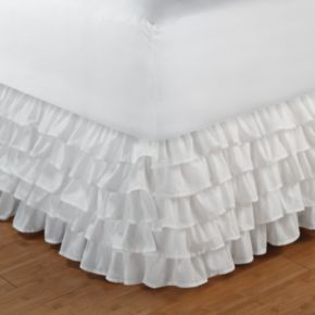 Tiered Ruffle Bedskirt - King