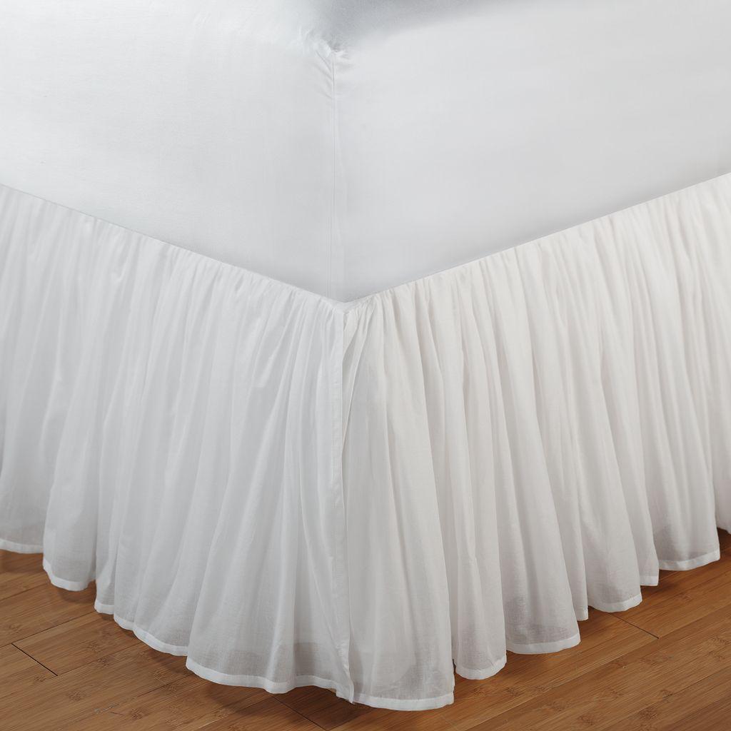 Voile Bedskirt - King