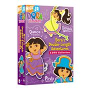 Dora The Explorer: Dora's Double-Length Adventures 3-Disc DVD Set