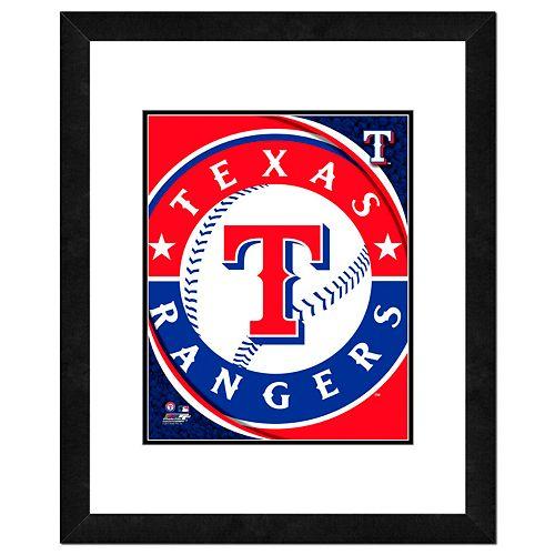Texas Rangers Framed Logo