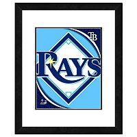 Tampa Bay Rays Framed Logo