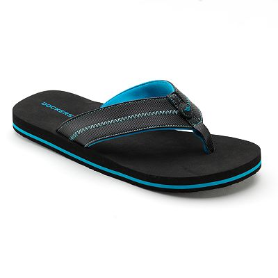 Dockers Zigzag Stitch Flip-Flops - Men