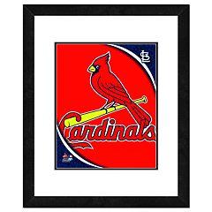 St. Louis Cardinals Framed Logo