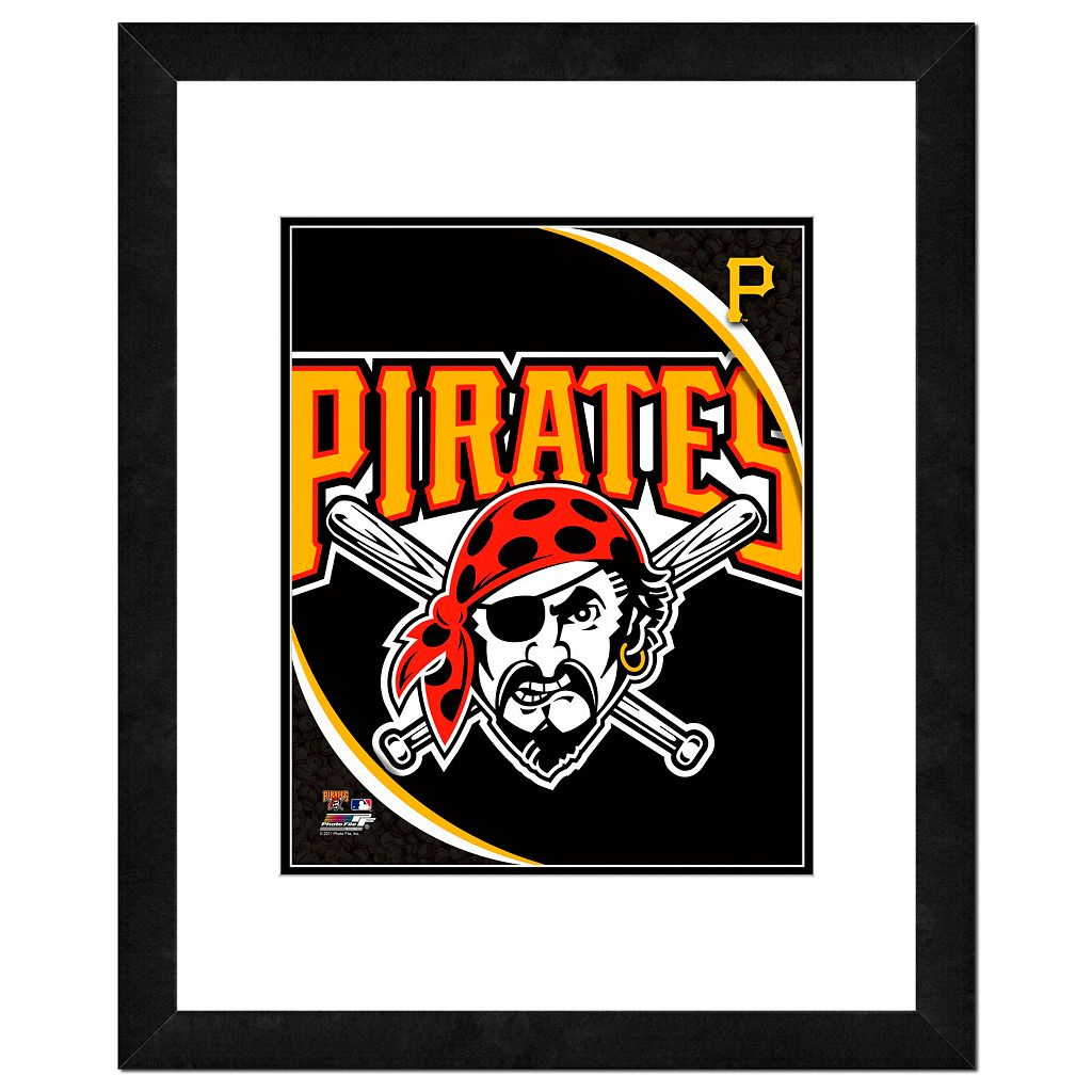 Pittsburgh Pirates Framed Logo