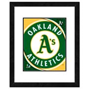 Oakland Athletics Framed Logo