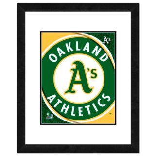 Oakland Athletics Framed Logo