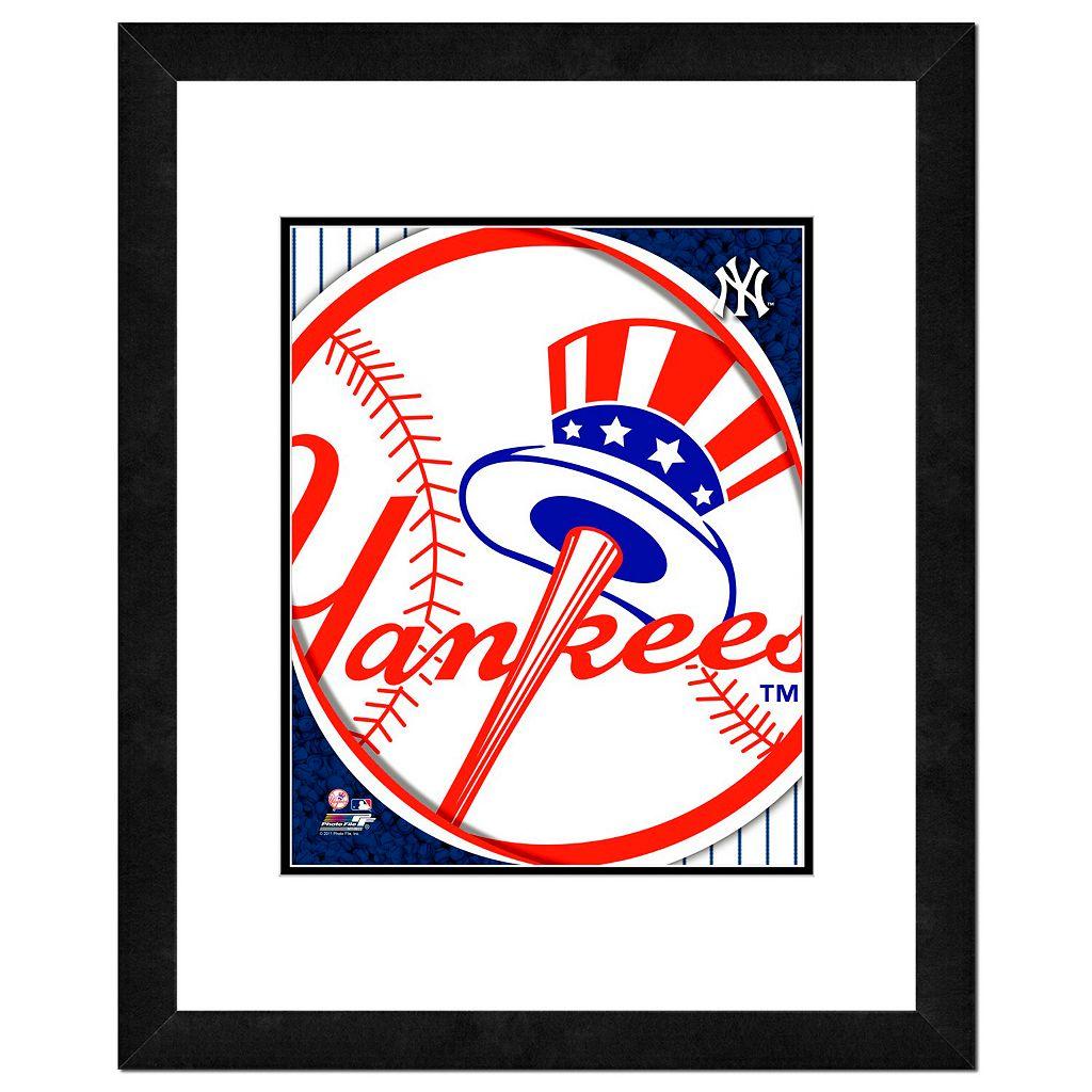 New York Yankees Framed Logo