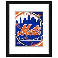New York Mets Framed Logo