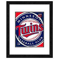 Minnesota Twins Framed Logo