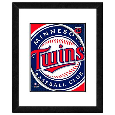 Minnesota Twins Framed Logo