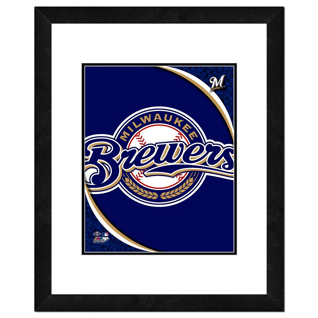 Milwaukee Brewers Framed Logo
