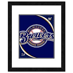Milwaukee Brewers Framed Logo