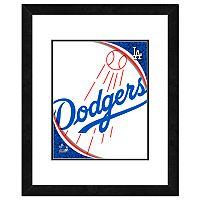 Los Angeles Dodgers Framed Logo
